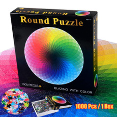 Box, rainbow, diypuzzle, puzzlejigsaw