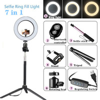 salver Broadcast Live Photography Fill Light LED Camera Phone Flash Dimmable Light On-Camera Video Lights