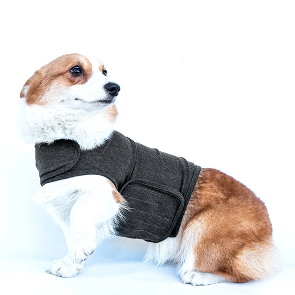 FlYHIGH Pet Coat Anti Anxiety Dog Puppy Vest Jacket Thunder Shirt Stress Relief Calming Wrap Soft Comfortable Clothes Clothing Soothing Emotional Appease XS//S//M//L//XL
