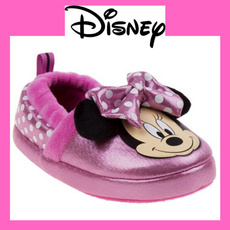pink, Slippers, josmo, Disney