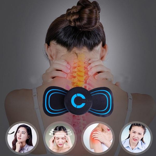backmassager, em, stimulateur, neckmessager