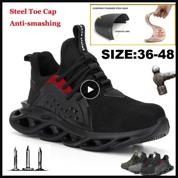 Men Safety Shoes with Metal Toe