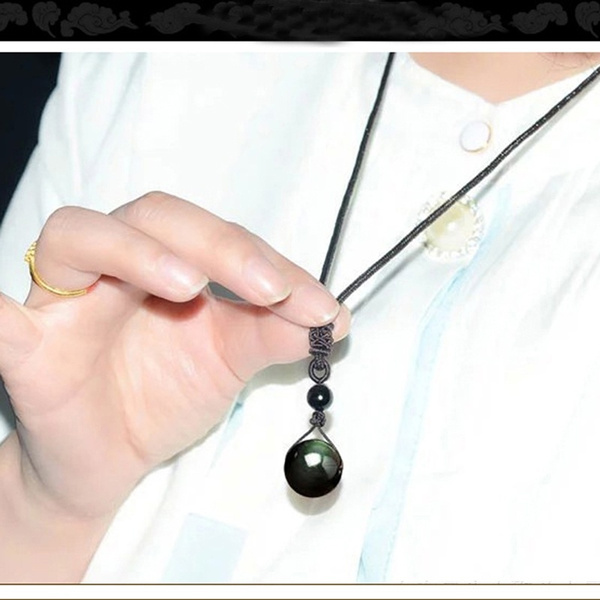 rainbow, crystal pendant, eye, Jewelry