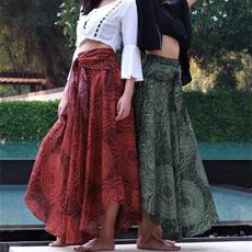 long skirt, Plus Size, hippie, boho