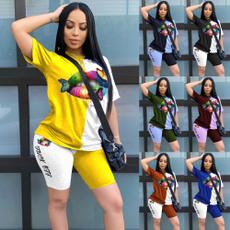 Summer, Plus Size, Tops & Tees, short sleeves