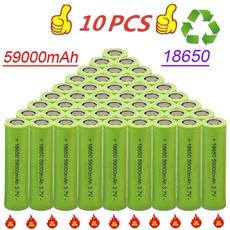 Battery Pack, Capacity, 18650flashlight, Equipment