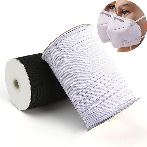 braidedelasticband, sewingband, maskrope, stretchribbon