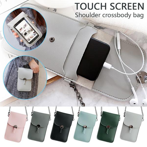 women bags, Mini, womensolidcolorshoulderbag, Phone