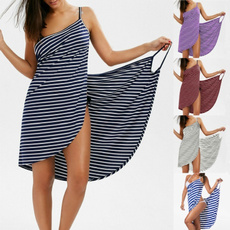 Summer, Plus Size, Holiday, Dresses