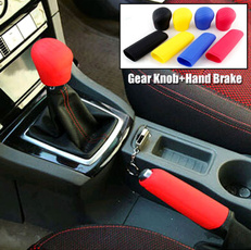 Head, gearshiftcollar, siliconehandbrakecase, solid