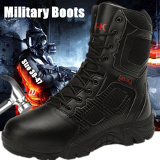 ankle boots, Steel, combat boots, Outdoor