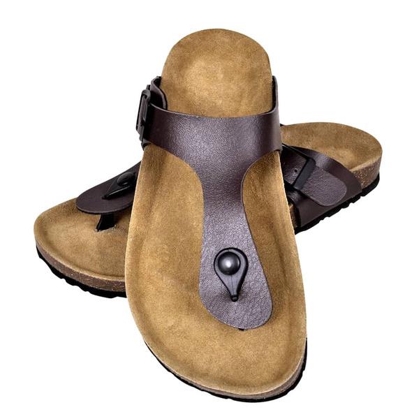 brown, Sandals, biosugherosandalo, unisex