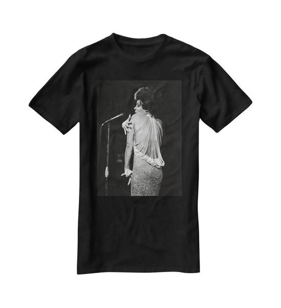 Cotton Shirt, print t-shirt, shirleybasseyonstagetshirt, Plus size top