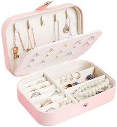 necklaceringstorageorganizer, jewerlycase, leatherjewelcabinetgiftcase, Cabinets