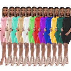 short sleeves, Summer, shortsset, Plus Size
