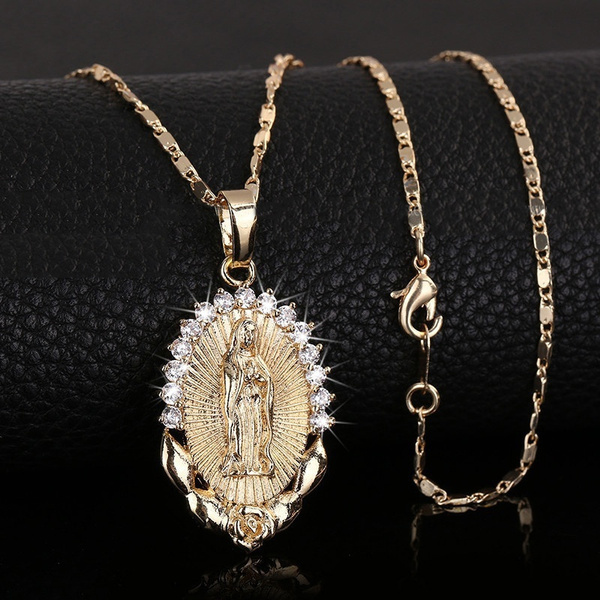 goldplated, Fashion, gold, necklace for women