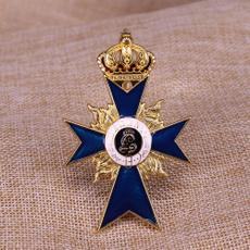 crossbrooche, germany medal, Pins, german