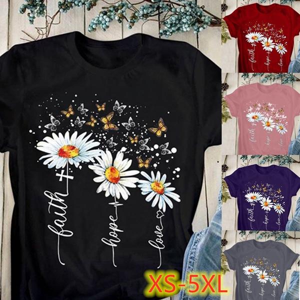 Summer, Plus Size, Tops & Blouses, Shirt