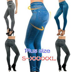 Women Pants, Waist, Leggings, Plus Size