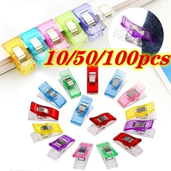 sewingknittingsupplie, edgeclip, bricolage, clipsenplastique