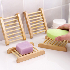 Bathroom Accessories, woodensoaprack, bambooholder, Storage