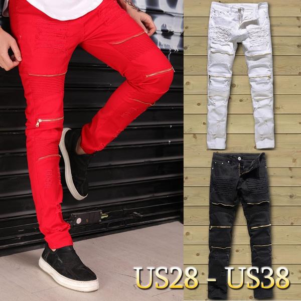 men jeans, Fashion, distressedjean, men trousers