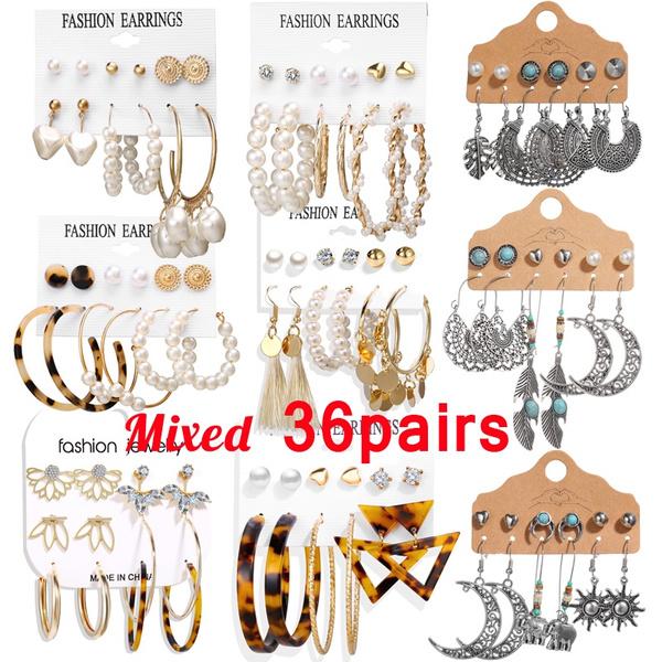 Pearl Earrings, Stud Earring, Earring, Women's Fashion