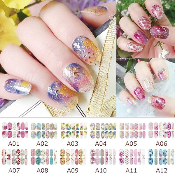 Nails, nail stickers, Waterproof, Beauty