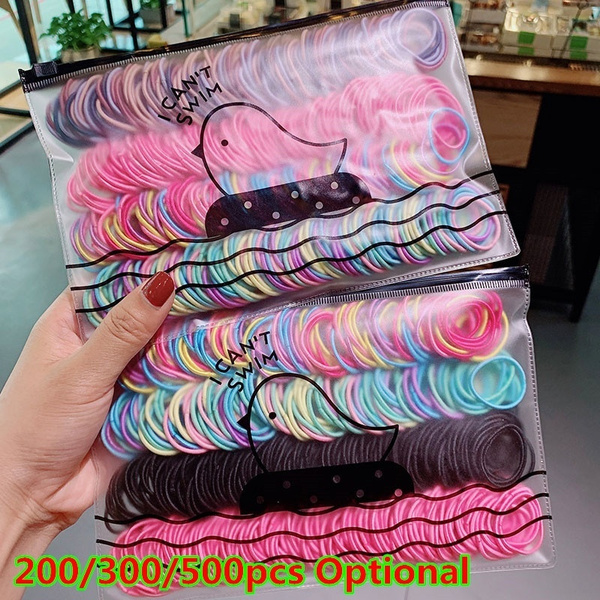 cute, scrunchie, Colorful, Elastic