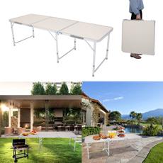 Outdoor, Picnic, foldingtablecamping, Aluminum