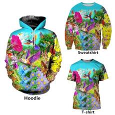 Flowers, Shirt, T Shirts, Casual
