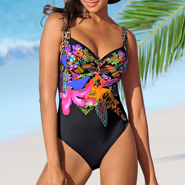 Fashion, Plus Size Swimwear, One Piece Swimsuits, Women's Fashion