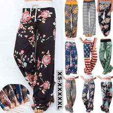 drawstringpant, Fashion, high waist, Casual pants