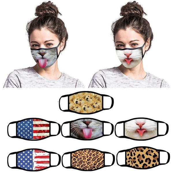 3dprintmask, Outdoor, dustmask, animal print