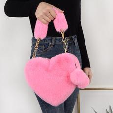 women bags, Shoulder Bags, Fashion, fur