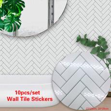 Decor, Waterproof, Wall Decal, Bathroom