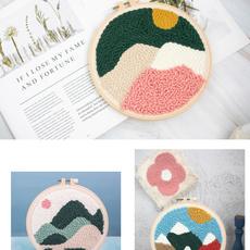 crossstitch, Decor, Knitting, embroiderykit