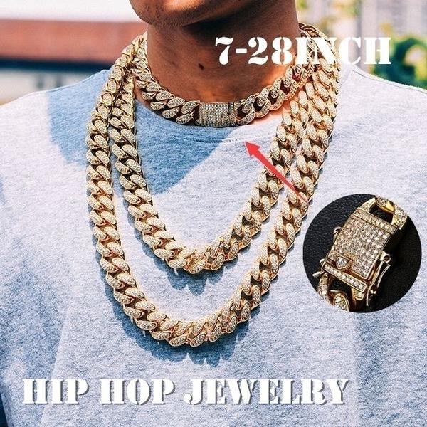 DIAMOND, Chain, gold, Miami