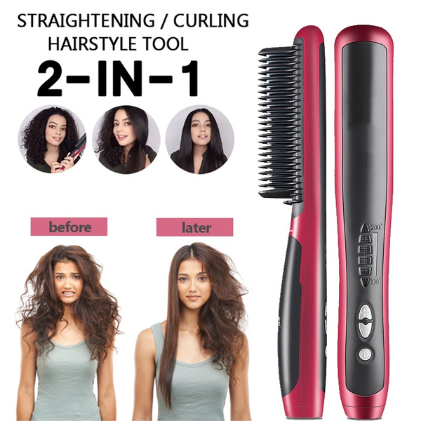 Mini, curlinghaircomb, Electric, Electric Hair Comb
