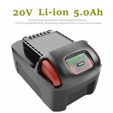 Battery, ingersoll, Rechargeable, charger
