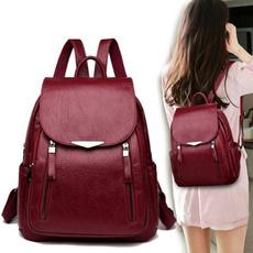 women bags, School, Capacity, women backpack