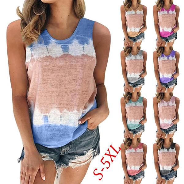 blouse, Tops & Tees, Vest, Plus Size