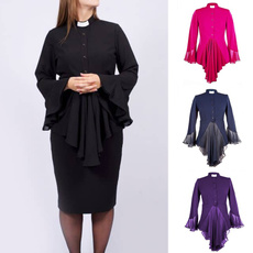 clergywomen, Fashion, priestcostume, chiffon