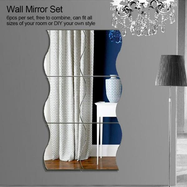 Decor, Home Decor, wallmirror, Home & Living
