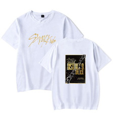 Outdoor, Cotton T Shirt, letter print, short sleeves