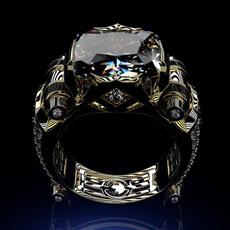 Sterling, Fashion, wedding ring, gold