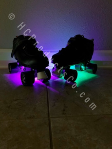 bluetoothrollerskate, lightuprollerskate, ledskatelight, rollerskate