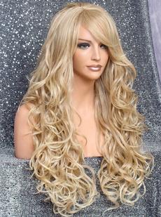wig, hair, blend