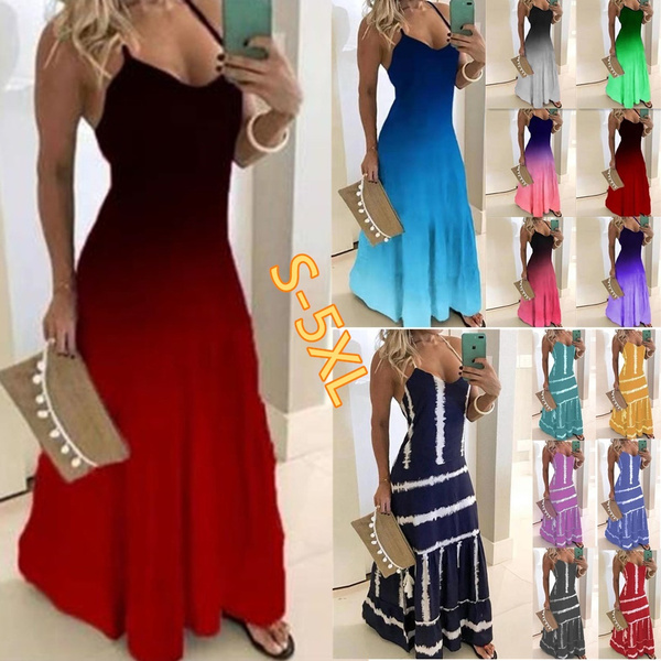 Summer, Fashion, Dresses, Spaghetti