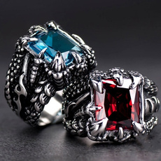 dragonclawring, ringsformen, Jewelry, Stainless